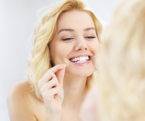 Benefits of flossing daily