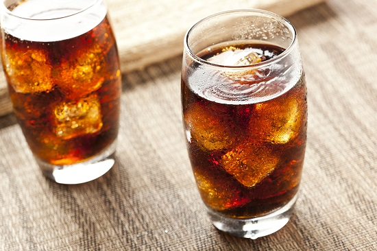 Soft drink can harm your teeth