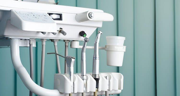 range of dentist tools