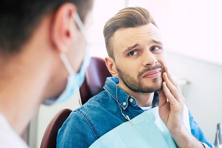 Dental procedure pain