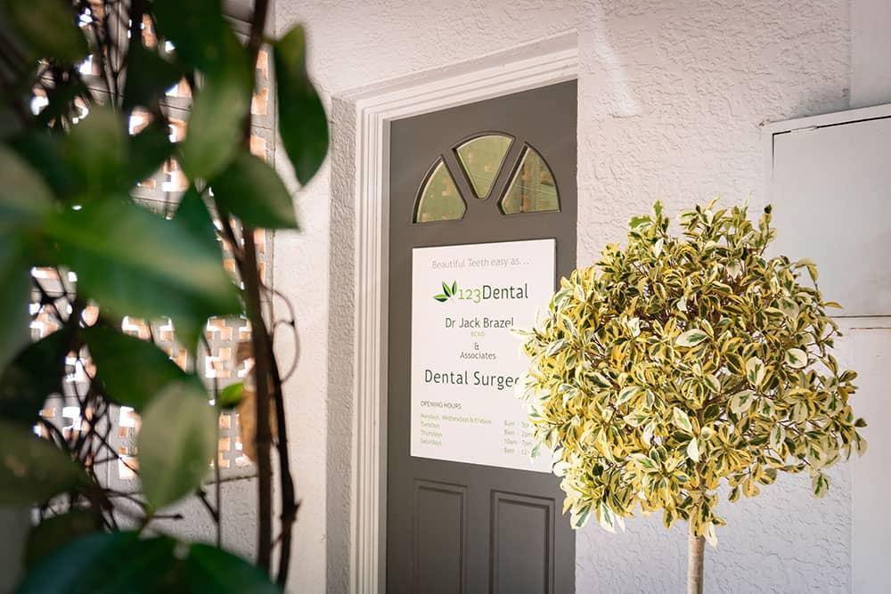 123 dental entrance