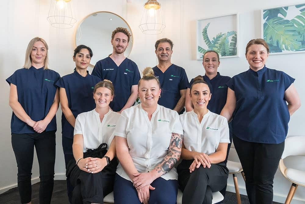the 123 dental team
