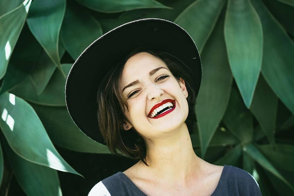 happy smile woman